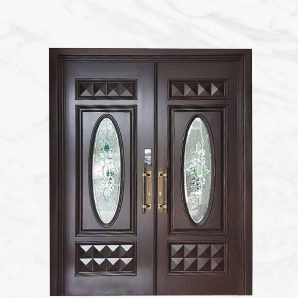 Double Leaf Solid Timber Door 24